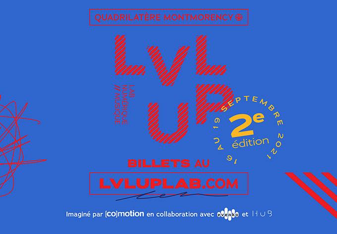 LVL UP, lab numérique et musique - 16 septembre 2021, Laval