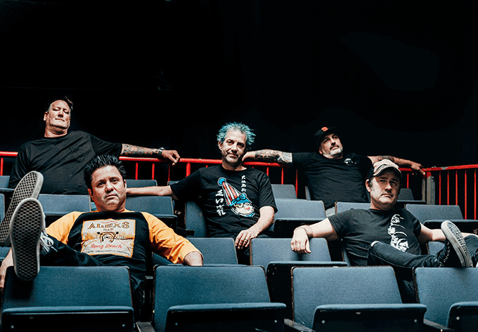 Lagwagon Performing Blaze - December 14, 2021, Montreal
