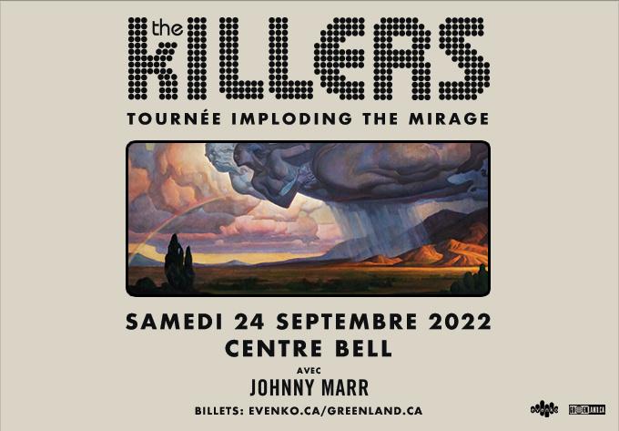 The Killers - 24 septembre 2022, Montréal