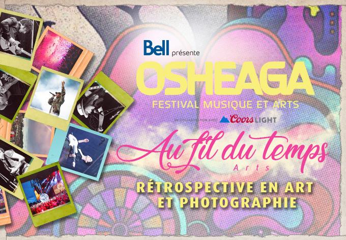 OSHEAGA Au fil du temps : Retrospective en art et photographie - 6 août 2021, Montréal